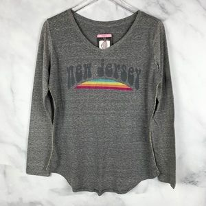 🔥NWT State of Mine New Jersey Rainbow Graphic Tee